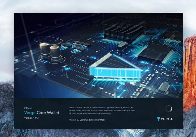 IMG_20180521_092859.jpg : 버지 Vergecurrency 오피셜 트윗 - redesigned wallet artwork 4개 선정
