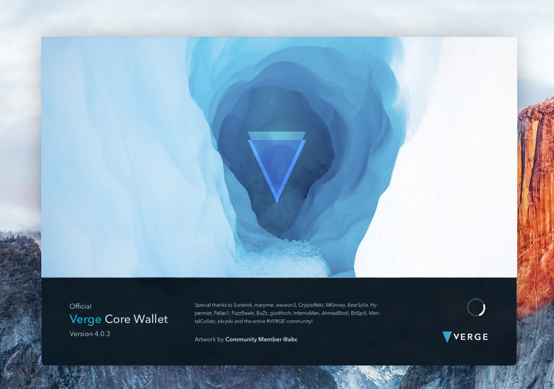 IMG_20180521_092904.jpg : 버지 Vergecurrency 오피셜 트윗 - redesigned wallet artwork 4개 선정