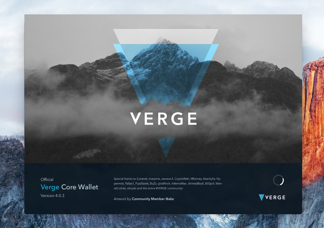IMG_20180521_092856.jpg : 버지 Vergecurrency 오피셜 트윗 - redesigned wallet artwork 4개 선정